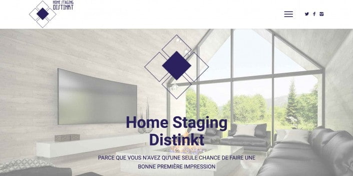 Home Staging Distinkt
